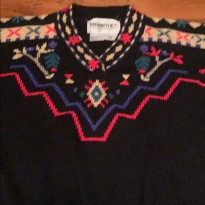 Gorgeous Obermeyer tapestry sweater! Fall Winter